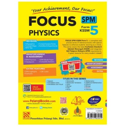FOCUS SPM PHYSICS FORM 5 KSSM (2021)