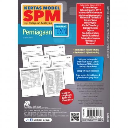 KERTAS MODEL SPM - PERNIAGAAN (3766/1, 3766/2)