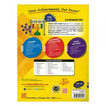 FOCUS SPM CHEMISTRY KBSM Form 4 & 5