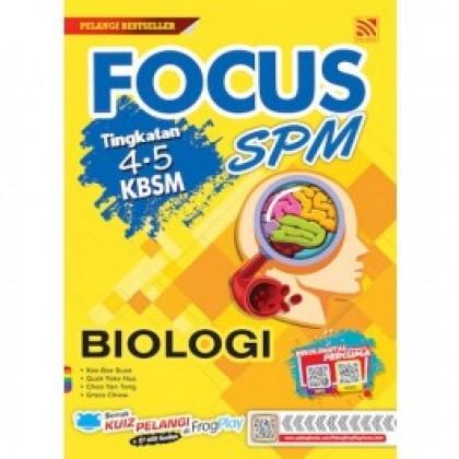 2019/2020 FOCUS SPM BIOLOGI KBSM Form 4 & 5