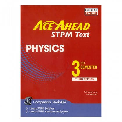 ACE AHEAD STPM TEXT PHYSICS 3rd SEMESTER
