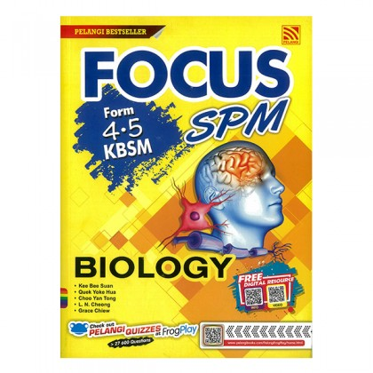 FOCUS SPM BIOLOGY KBSM FORM 4 & 5