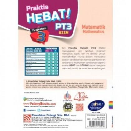 2020 TINGKATAN 3 PRAKTIS HEBAT! PT3 MATEMATIK(BIL)