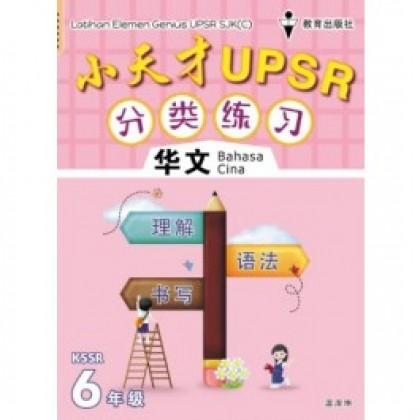 六年级小天才 UPSR 分类练习华文 <PRIMARY 6 LATIHAN ELEMEN GENIUS UPSR BAHASA CINA>