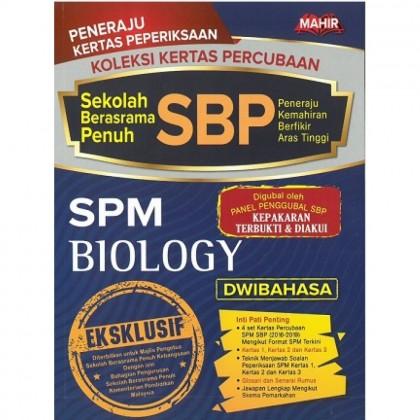 Koleksi Kertas Percubaan SBP SPM BIOLOGY (Dwibahasa)