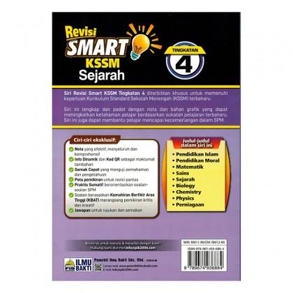 Revisi Smart KSSM Sejarah Tingkatan 4
