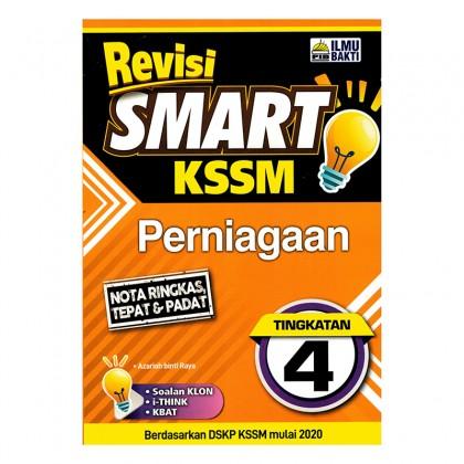 Revisi Smart KSSM Perniagaan Tingkatan 4