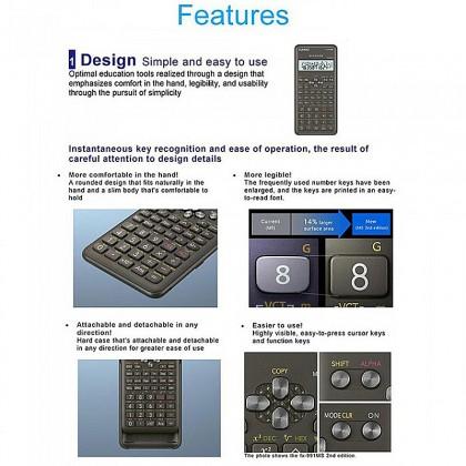 Casio FX-570MS Scientific Calculator (2nd Edition)