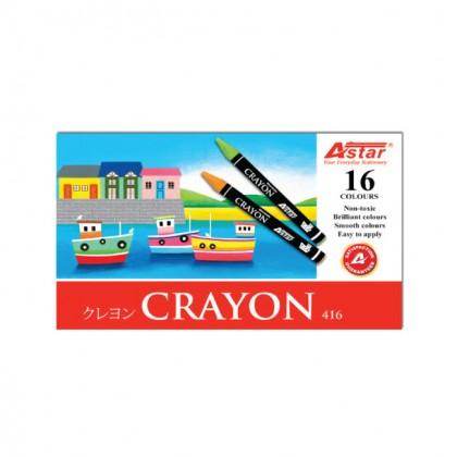 Astar Crayons 16 Colors