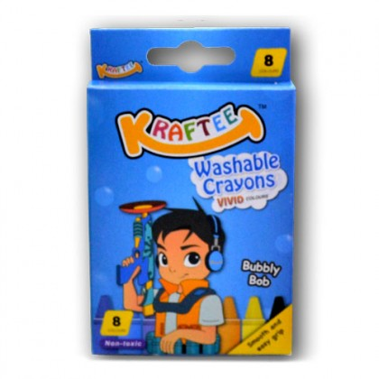 KRAFTEE Washable Crayon